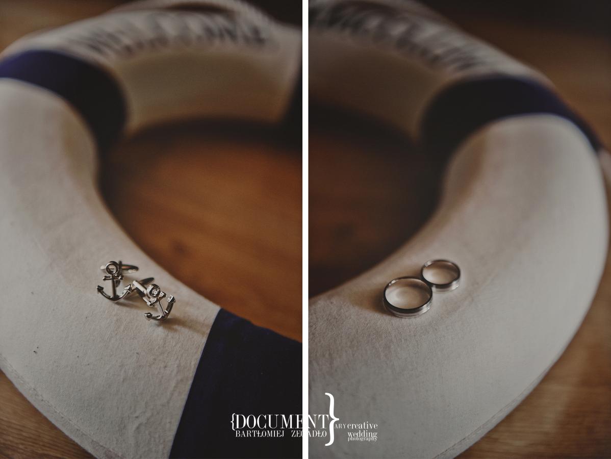 ślub w marynarskim stylu - fotografia 0005