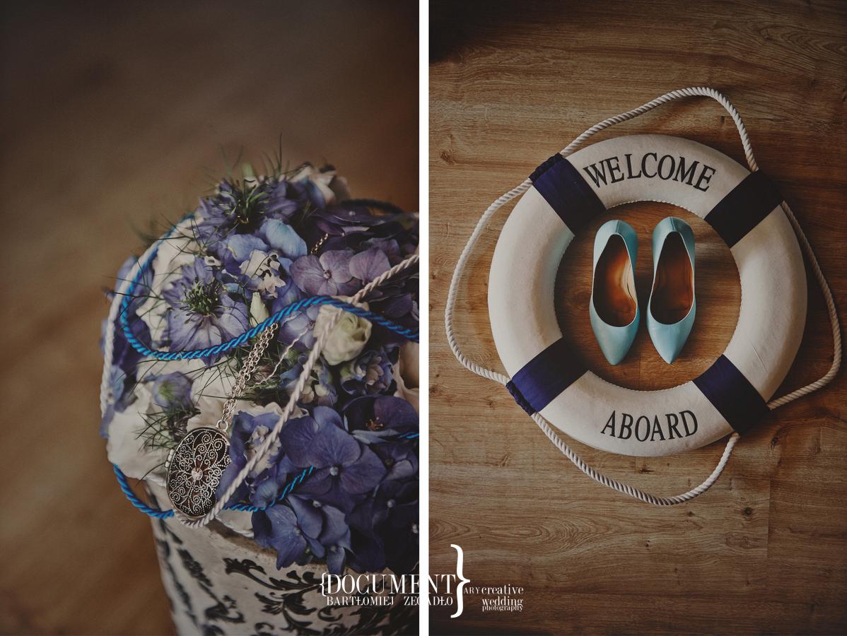 ślub w marynarskim stylu - fotografia 0009
